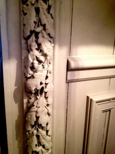 """Création de structures en boiseries  et de décors en stuc d'un magasin de décoration """"La Maison de Malaure"""" à Toulouse"""