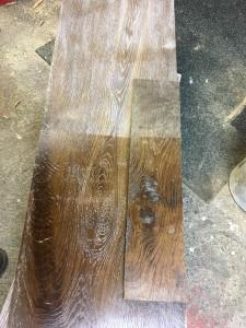 Plancher chêne large grande longueur