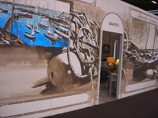 """Décor mural pour un stand du salon """" Maison et Objet """""""